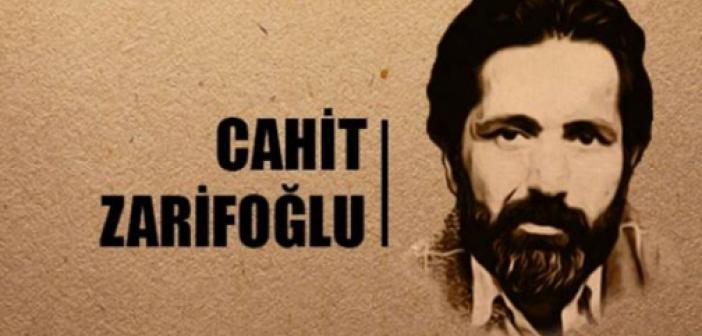 Cahit Zarifoğlu İçin...