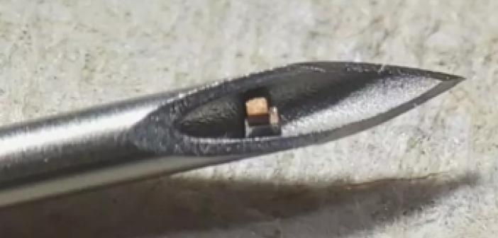 Vücuda Enjekte Edilebilecek Kadar Küçük Çip Geliştirildi